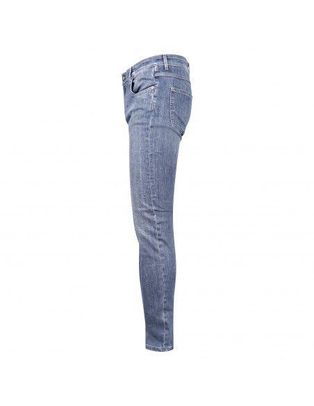 Camouflage - Jeans denim medio 5 tasche slim per uomo | best five d00 a197