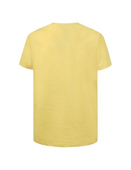 Dsquared2 - T-shirt gialla manica corta con stampa logo per uomo | d9m203540 700