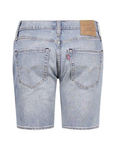 Levi's - Bermuda jeans 412™ 5 tasche denim chiaro per uomo | 39387-0019