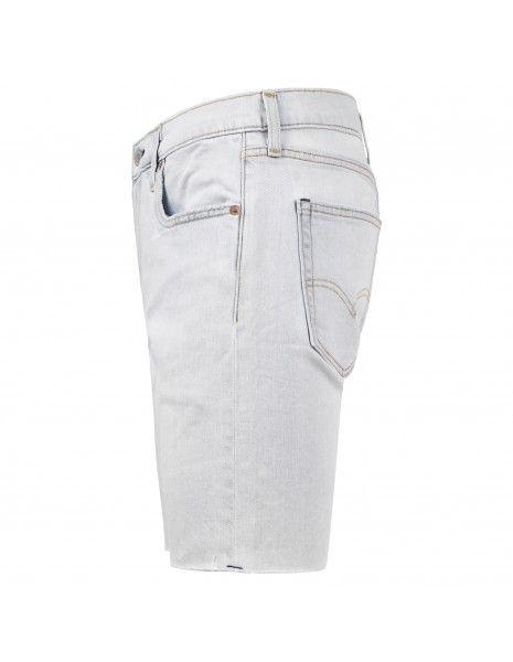 Levi's - Bermuda jeans 412™ 5 tasche denim chiaro per uomo | 39387-0032