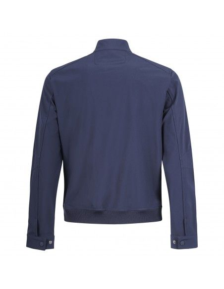 Ciesse Piumini - Giubbotto blu con zip per uomo | ashjo p7b23x 384xxp