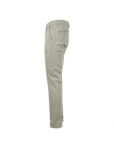 Luca Bertelli - Pantalone verde tasca a filo per uomo | p1600 skin verde