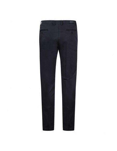 Luca Bertelli - Pantalone blu tasca a filo per uomo | p1600 skin blu