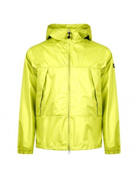 Penn-Rich Woolrich - Giubbotto giallo con cappuccio per uomo |