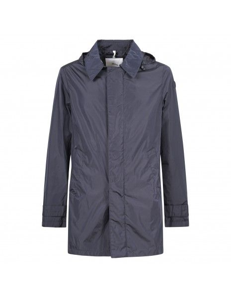 AT.P.CO - Impermeabile blu con cappuccio per uomo | a183 paride231 n008 790