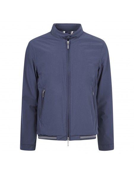 AT.P.CO - Giubbotto blu con zip per uomo | a143casto50 pm2002 790