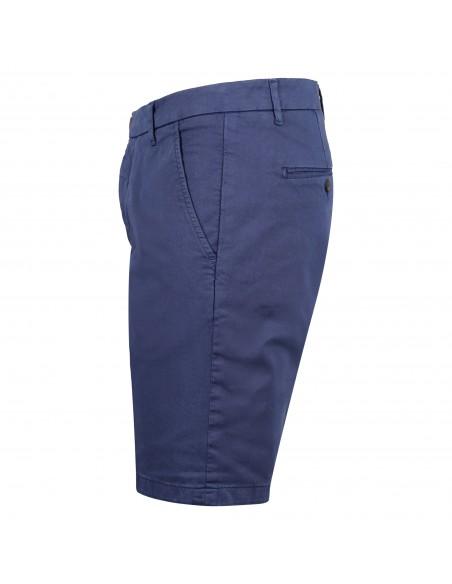 Roy Roger's - Bermuda blu in cotone tasca a filo slim per uomo |