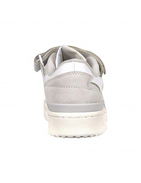 Adidas Originals - Sneakers bianca in pelle con logo per uomo | fy4577