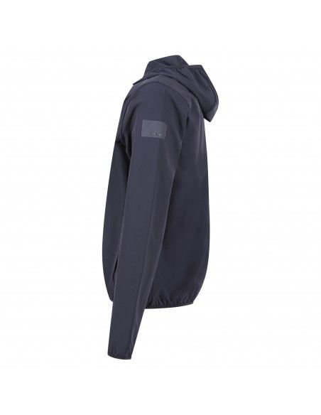 Museum - Giubbotto blu con cappuccio per uomo   warwick ms21beuja05ny918