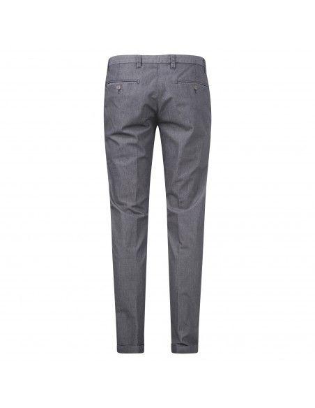 AT.P.CO - Pantalone blu tasca a filo lavorato per uomo | a221sasa45 tc618/t 910