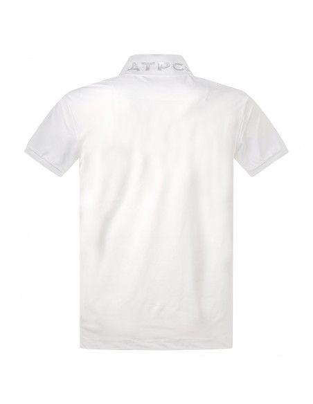 AT.P.CO - Polo bianca manica corta con logo per uomo | a225p23 pp01 000