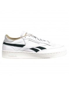 Sneakers bianche basse con logo