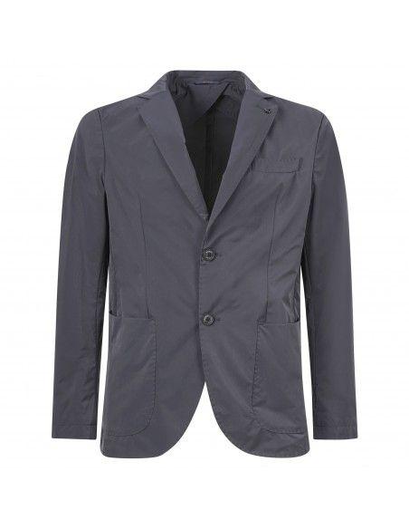AT.P.CO - Giacca blu in tessuto tecnico per uomo | a222alan6045 tf125 799