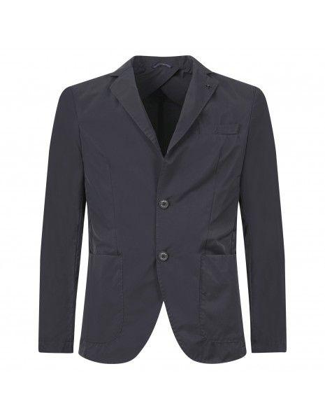 AT.P.CO - Giacca nera in tessuto tecnico per uomo   a222alan6045 tf125 999