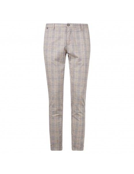 AT.P.CO - Pantalone multicolore tasca a filo check per uomo | a221sasa45