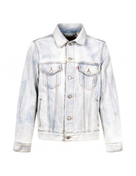 Levi's - Giubbotto in jeans denim chiaro per uomo | 77380-0010