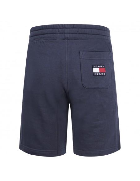 Tommy Jeans - Bermuda blu con coulisse in cotone per uomo | dm0dm10741c87