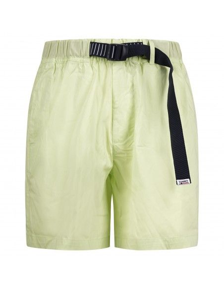 Tommy Jeans - Bermuda verde con coulisse per uomo   dm0dm10134lt3