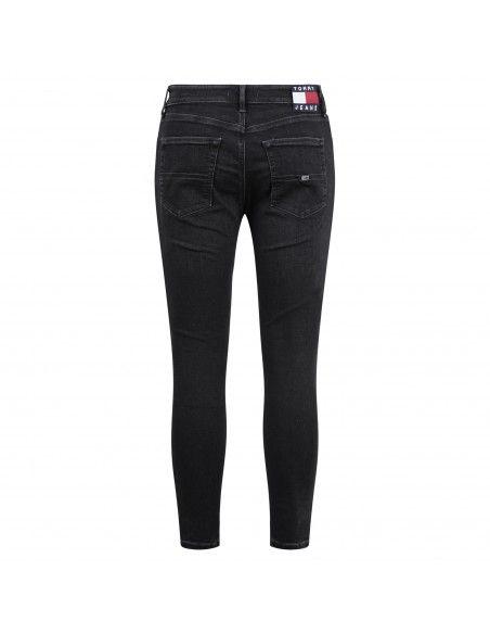 Tommy Jeans - Jeans 5 tasche skinny con tagli per uomo | dm0dm102571bz