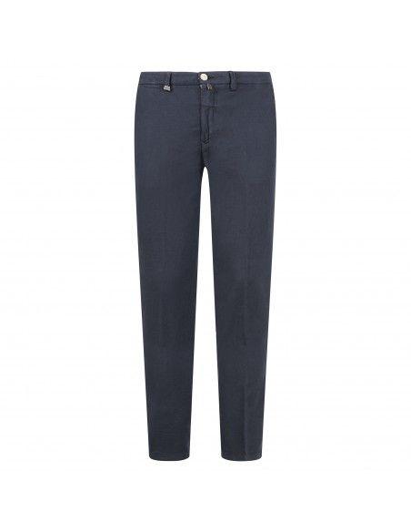 Barbati - Pantalone blu tasca a filo per uomo   p-ike/s 121271 111