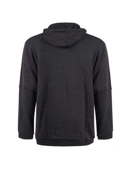 Adidas Originals - Felpa nera con cappuccio e logo per uomo | gn2424