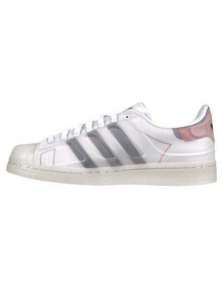 Adidas Originals - Sneakers bianca con tre strisce nere per uomo | fx5553