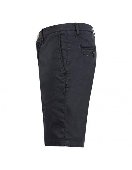 Barbati - Bermuda blu in cotone tasca a filo per uomo | b-kap/s 121031 111