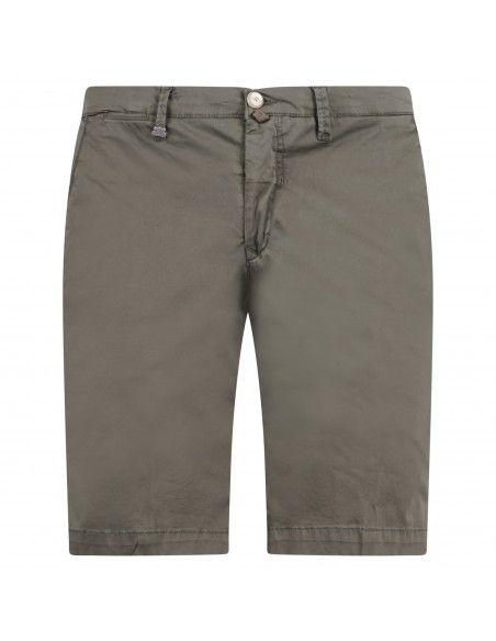 Barbati - Bermuda verde in cotone tasca a filo per uomo | b-kap/s 121031 162