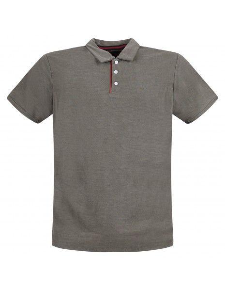 Museum - Polo verde manica corta in jersey per uomo | ricky shirt