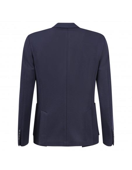 Havana & Co - Giacca blu in jersey per uomo | h2449d4j g5037ej 50