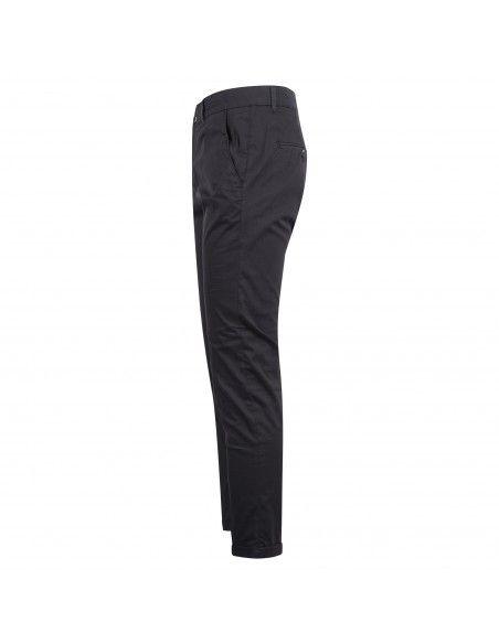 Camouflage - Pantalone blu tasca a filo in tessuto tecnico per uomo | chinos