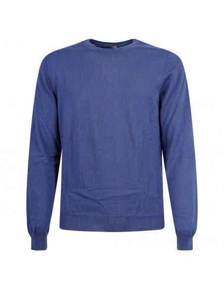 +39 Masq - Maglione girocollo azzurro per uomo | masq6000t-14-00 620