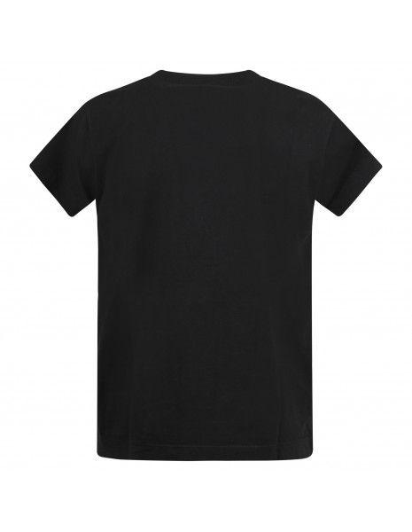 Officina36 - T-shirt nera manica corta con logo per uomo | cumh427 nero