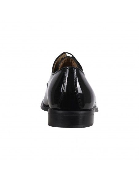 Antica Cuoieria - Stringata derby pelle nera in vernice per uomo   22045-n-vb8