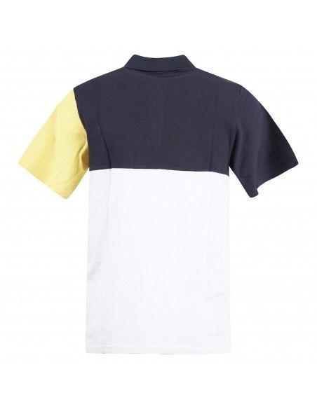 MQJ - Polo multicolore a manica corta con taschino per uomo | mqj5503-99-01 5016
