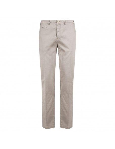 Barbati - Pantalone beige tasca a filo con lavorazione per uomo   p-jek/r