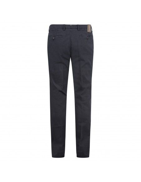Barbati - Pantalone blu tasca a filo con lavorazione per uomo | p-jek/r 120281