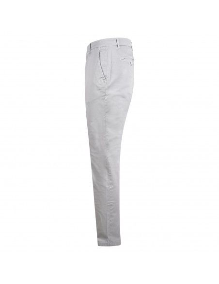 Luca Bertelli - Pantalone grigio tasca a filo per uomo | p1608 louis perla