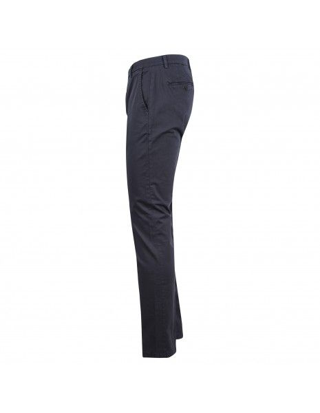 Luca Bertelli - Pantalone blu tasca a filo per uomo | p1608 louis navy