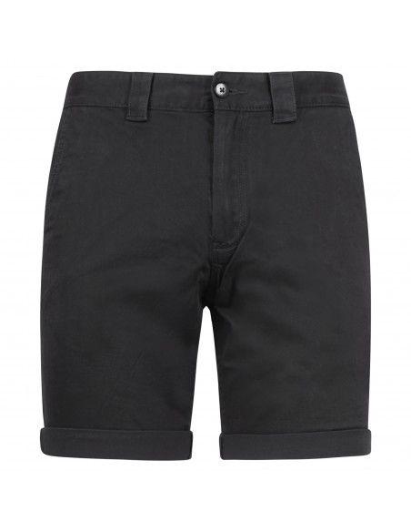 Tommy Jeans - Bermuda nera in cotone tasca a filo per uomo | dm0dm11076bds