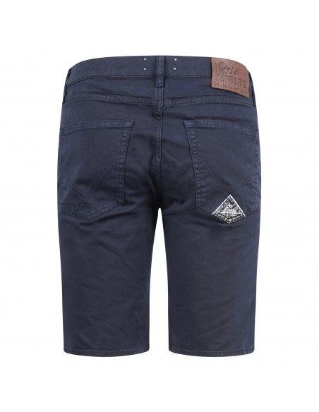 Roy Roger's - Bermuda blu in cotone tasca a filo per uomo | p21rru047p2701204