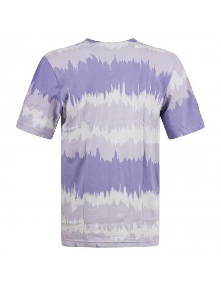 Adidas Originals - T-shirt multicolore manica corta con stampa logo per uomo |