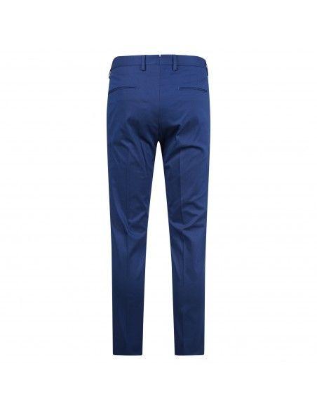 Luca Bertelli - Pantalone azzurro tasca a filo per uomo   p1824 pharrell cobalto