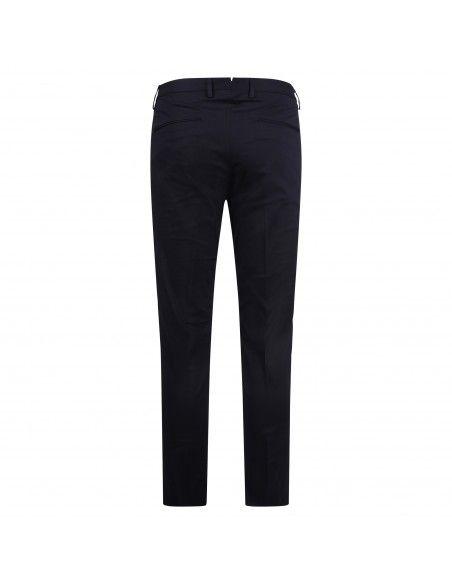 Luca Bertelli - Pantalone blu tasca a filo per uomo   p1824 pharrell navy