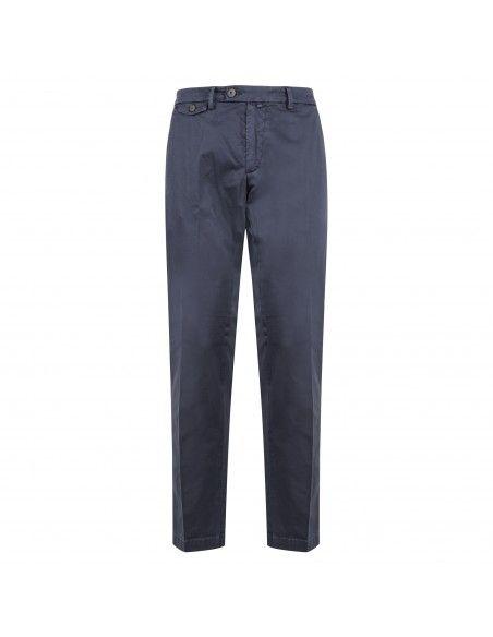 BRO - SHIP - Pantalone blu tasca a filo per uomo | bsnew81360000l navy