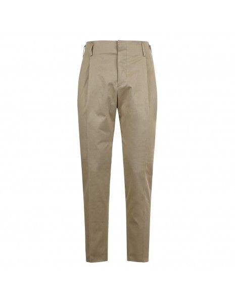 Brian Dales - Pantalone beige tasca a filo per uomo | jk4286 pa100 002