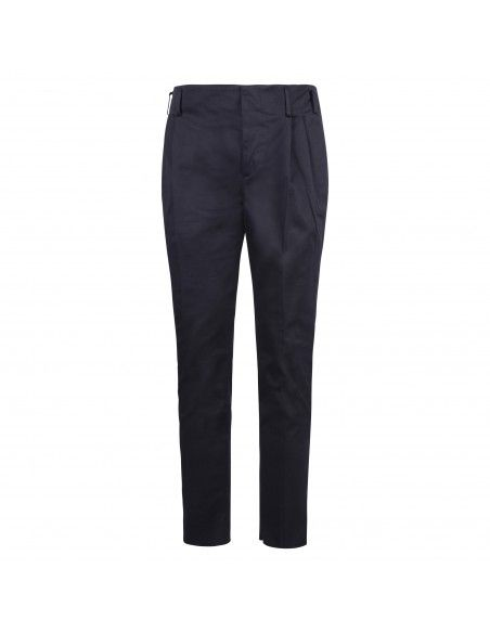 Brian Dales - Pantalone blu tasca a filo per uomo | jk4286 pa100 004