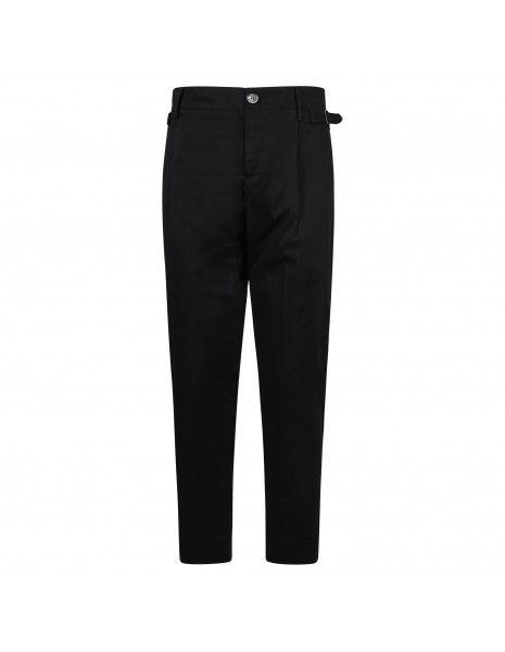 Havana & Co - Pantalone nero tasca a filo per uomo | h7553 p5009e 80