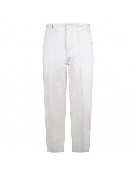 Havana & Co - Pantalone bianco tasca a filo per uomo | h7550 p5009e 10