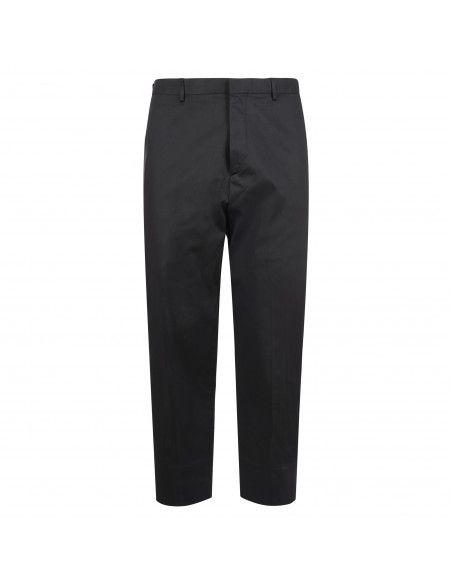 Havana & Co - Pantalone nero tasca a filo per uomo   h7550 p5009e 80